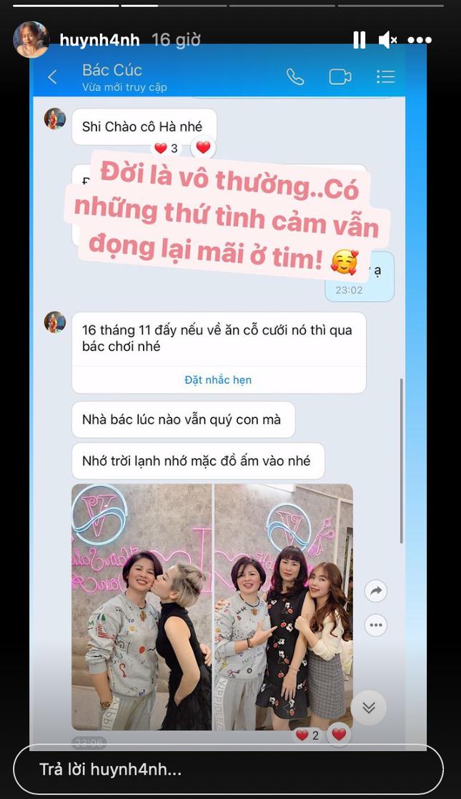 Sau 3 tháng chia tay, Huỳnh Anh tiết lộ tình trạng mối quan hệ hiện tại với mẹ Quang Hải ảnh 2