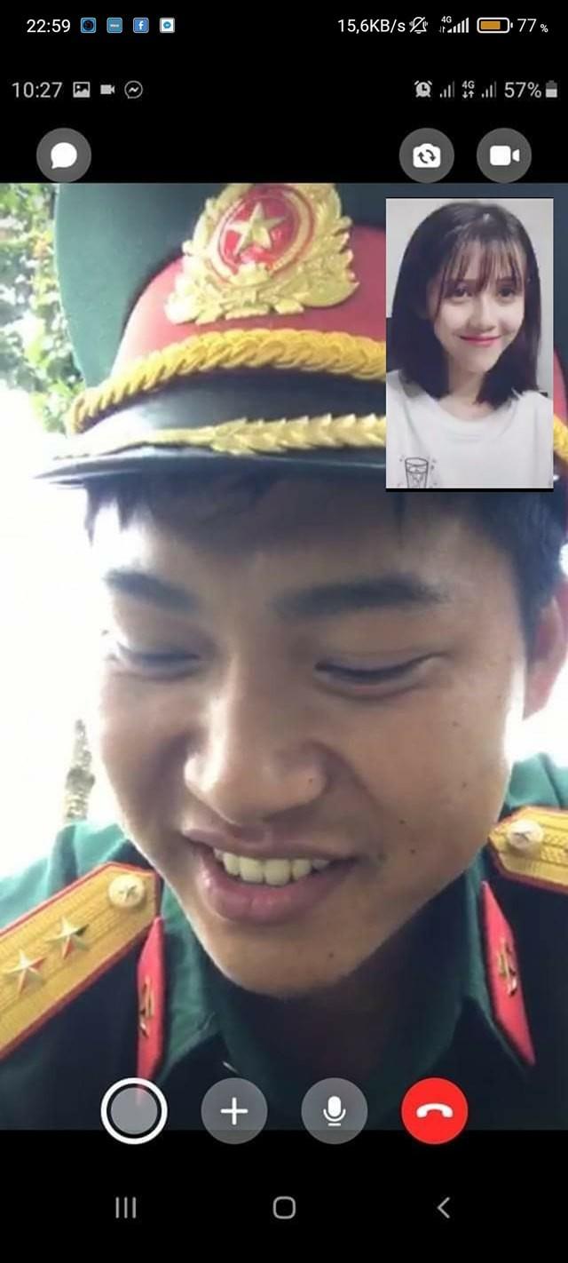 Xuất hiện hình ảnh Hậu Hoàng và Mũi trưởng Long gọi video call cho nhau, thực hư thế nào? ảnh 2