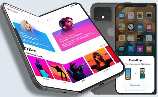 Rò rỉ thông tin Apple đang phát triển một phiên bản thử nghiệm của iPhone màn hình gập ảnh 1