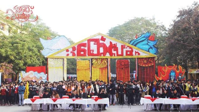 """Sinh viên Đại học Kinh tế Quốc dân háo hức đón năm mới với """"Tết - 360 độ Xuân 2021"""" ảnh 1"""