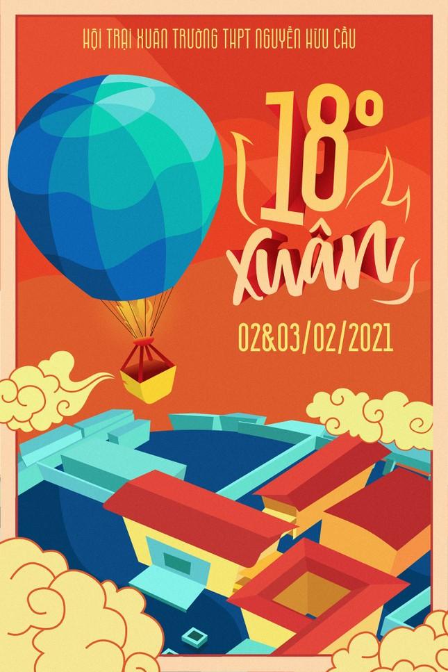 Trường teen tưng bừng lễ hội đón Tết: Hội chợ đón Xuân, prom cuối cấp vui nổ trời! ảnh 4
