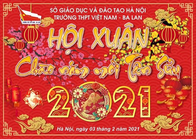 Trường teen tưng bừng lễ hội đón Tết: Hội chợ đón Xuân, prom cuối cấp vui nổ trời! ảnh 3