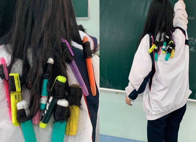 """1001 """"chiêu trò"""" làm đẹp của hội học sinh dịp Tết: Làm nail, uốn tóc với giá... 0 đồng! ảnh 1"""
