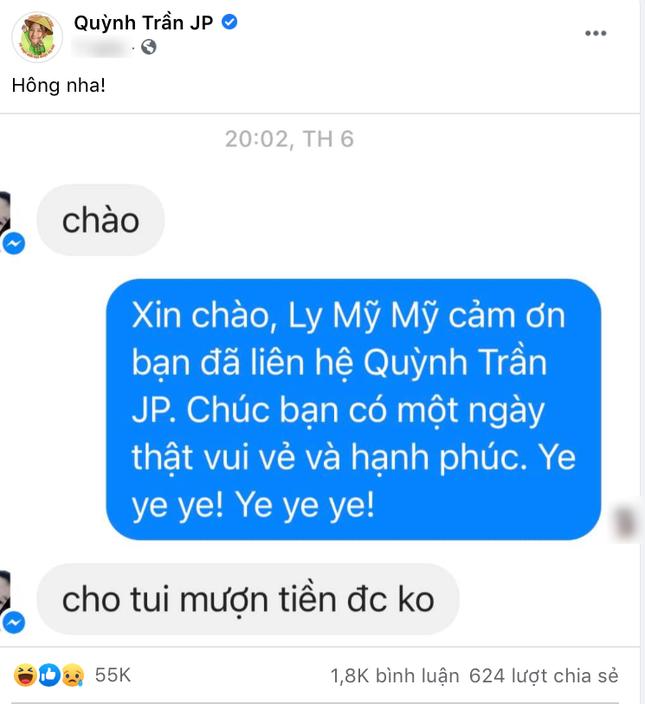 """YouTuber Quỳnh Trần JP đáp trả cực gắt khi dân mạng vào hỏi """"Mượn tiền được không?"""" ảnh 2"""