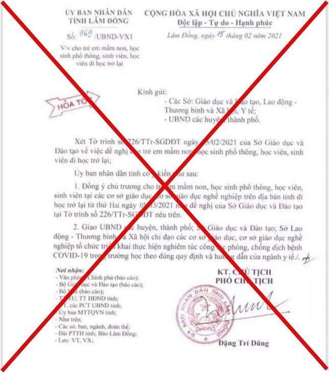 Nam sinh lớp 10 ở Lâm Đồng làm giả văn bản nghỉ học sẽ chịu hình thức xử lý như thế nào? ảnh 1