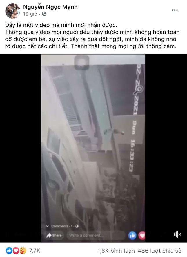 Clip bé gái va chạm khi rơi từ tầng 12: Nếu anh Mạnh không xuất hiện kịp thì sẽ thế nào? ảnh 2