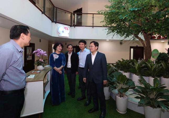 Cơ quan TƯ Đoàn khánh thành công trình chào mừng 90 năm thành lập Đoàn TNCS Hồ Chí Minh ảnh 2