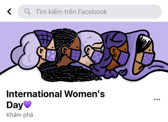 Facebook, Google mừng ngày Quốc tế Phụ nữ 8/3: Chỉ cần nhấn vào logo là thấy điều đặc biệt ảnh 2