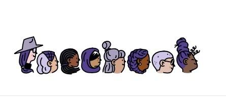 Facebook, Google mừng ngày Quốc tế Phụ nữ 8/3: Chỉ cần nhấn vào logo là thấy điều đặc biệt ảnh 1