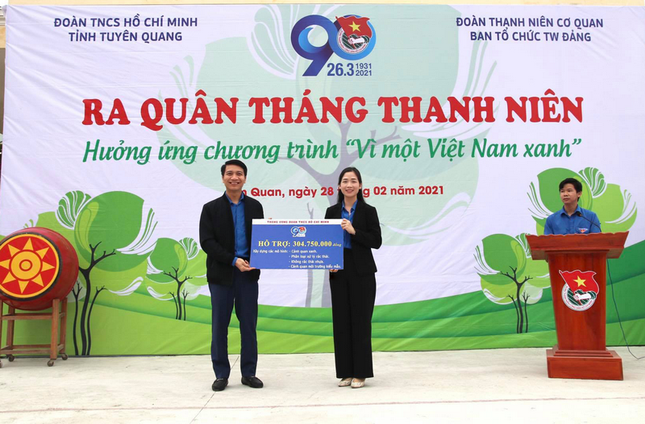 Tuổi trẻ Quảng Bình, Tuyên Quang sôi nổi các hoạt động Tháng Thanh niên năm 2021 ảnh 3
