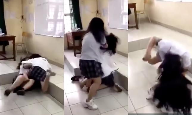 Liên tiếp 2 vụ nữ sinh THPT đánh nhau, dư luận bức xúc khi bạn bè xung quanh thờ ơ ảnh 2