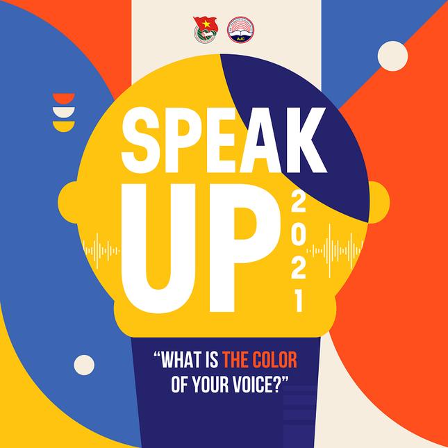 """Ấn tượng với dàn thí sinh tài năng tại Vòng Sơ khảo """"Speak Up 2021"""" của sinh viên Báo chí ảnh 1"""