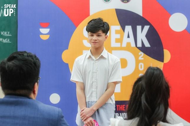 """Ấn tượng với dàn thí sinh tài năng tại Vòng Sơ khảo """"Speak Up 2021"""" của sinh viên Báo chí ảnh 8"""