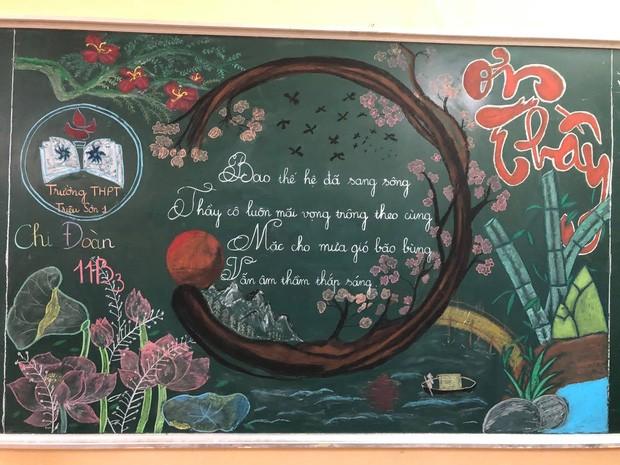 Sôi động Tháng Thanh niên: Hội học sinh đua nhau khoe màn trang trí bảng cực đẹp ảnh 1