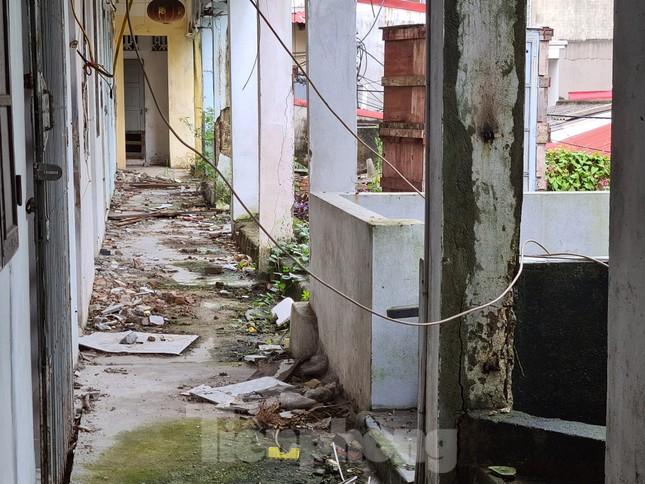 Hải Phòng: Di dời các hộ dân khỏi khu chung cư 'chờ sập' vào cuối năm ảnh 2