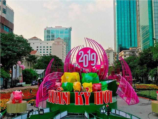 Những đường hoa không thể bỏ qua dịp Tết Nguyên đán ở Sài Gòn ảnh 12