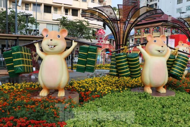 Cận cảnh đường hoa Nguyễn Huệ Tết Nguyên đán 2020 trước giờ khai hội ảnh 9
