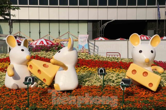 Cận cảnh đường hoa Nguyễn Huệ Tết Nguyên đán 2020 trước giờ khai hội ảnh 13