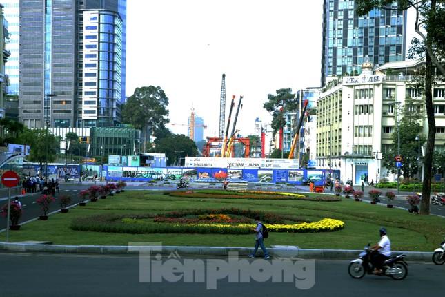 Chiêm ngưỡng nhà ga metro hiện đại đầu tiên dưới lòng đất Sài Gòn ảnh 14
