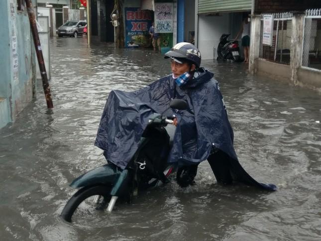 Cây đổ, đường phố Sài Gòn mênh mông nước sau trận mưa cực lớn ảnh 4