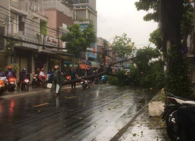 Cây đổ, đường phố Sài Gòn mênh mông nước sau trận mưa cực lớn ảnh 9
