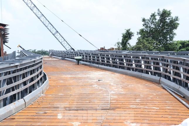 Cận cảnh cây cầu thay thế bến phà cuối cùng trong nội thành Sài Gòn ảnh 7
