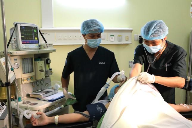 Cận cảnh bác sĩ Bệnh viện dã chiến luyện tập trước giờ lên đường đi Nam Sudan ảnh 4