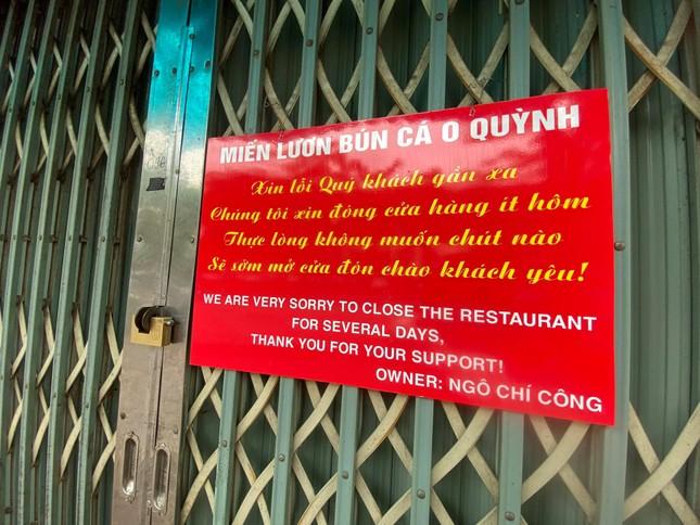 Ngày đầu Hà Nội thực hiện 'lệnh' đóng cửa hàng quán ảnh 1