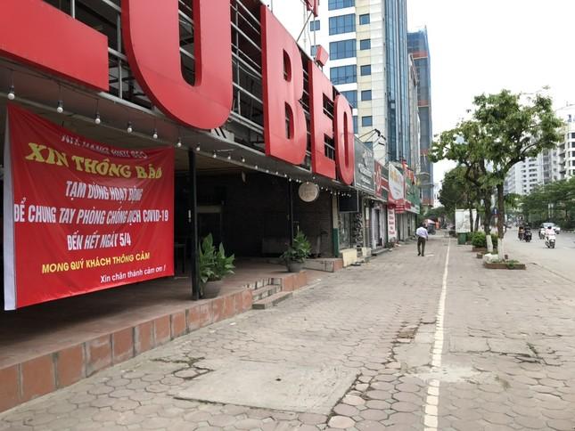 Ngày đầu Hà Nội thực hiện 'lệnh' đóng cửa hàng quán ảnh 3