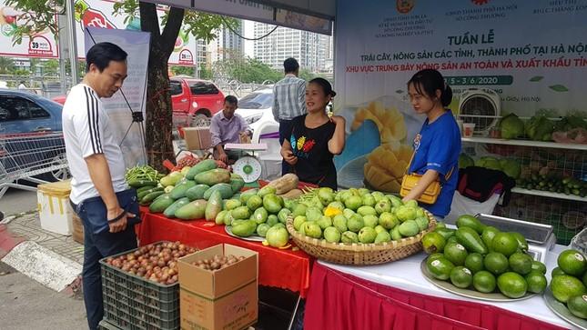 Vào hè, trái cây vùng miền đổ bộ hội chợ trái cây, nông sản Hà Nội ảnh 7