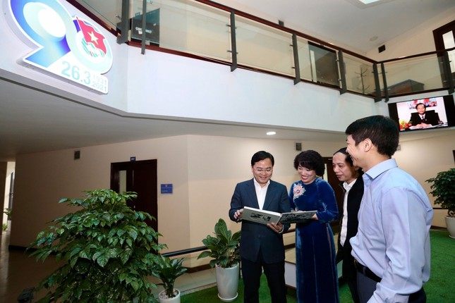 Khánh thành Không gian xanh tại trụ sở Trung ương Đoàn  ảnh 1