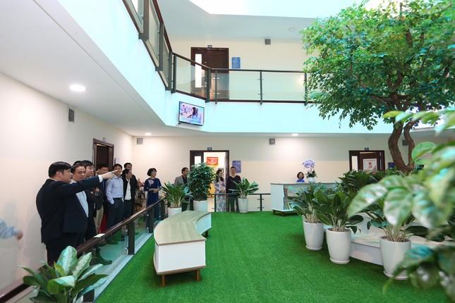 Khánh thành Không gian xanh tại trụ sở Trung ương Đoàn  ảnh 3