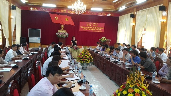Họp báo công tác tổ chức Đại hội Đảng bộ tỉnh Yên Bái ảnh 2
