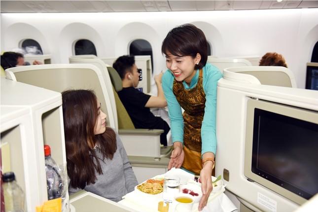 Sự 'sang chảnh' trong dịch vụ 4 sao của Vietnam Airlines ảnh 1