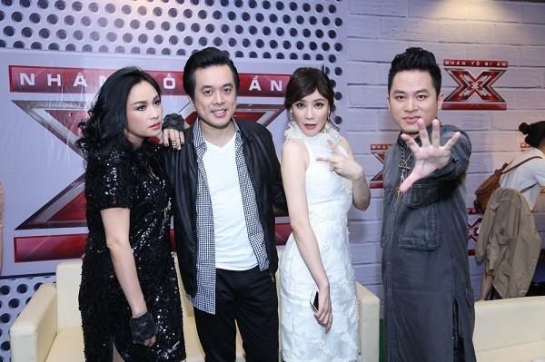 Hồ Quỳnh Hương phồng má tạo dáng trong hậu trường X Factor ảnh 7