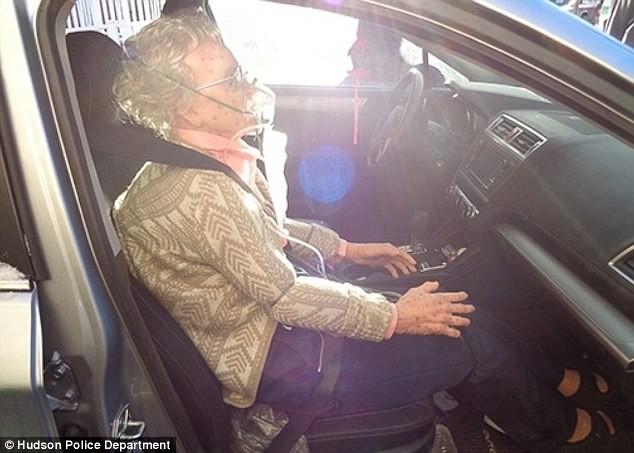 Cảnh sát phá cửa kính ôtô giải cứu... hình nộm cụ bà ảnh 1
