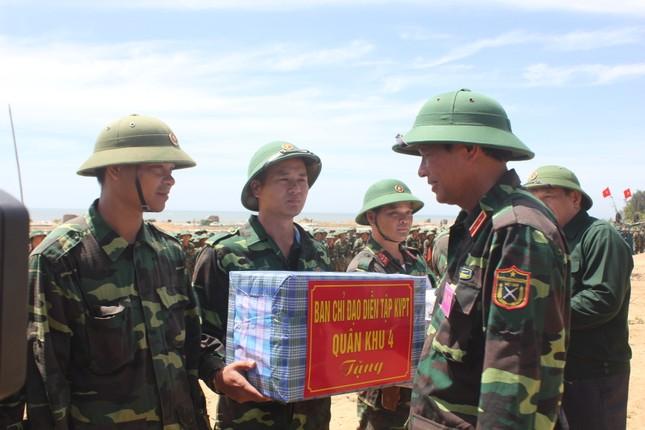 Sư đoàn 324 diễn tập thực binh bắn đạn thật khu vực phòng thủ tỉnh Nghệ An năm 2017 ảnh 5