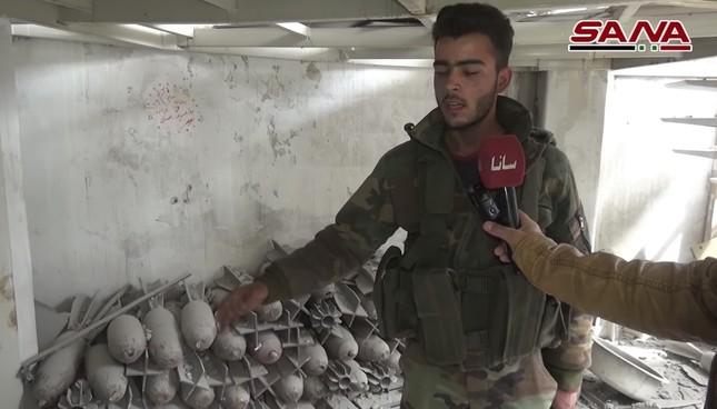 Quân đội Syria tìm thấy vũ khí của NATO tại vùng IS chiếm đóng ảnh 5
