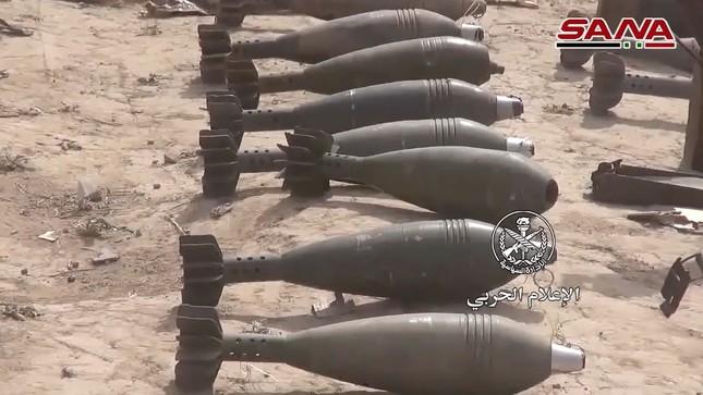 Quân đội Syria tìm thấy vũ khí của NATO tại vùng IS chiếm đóng ảnh 3