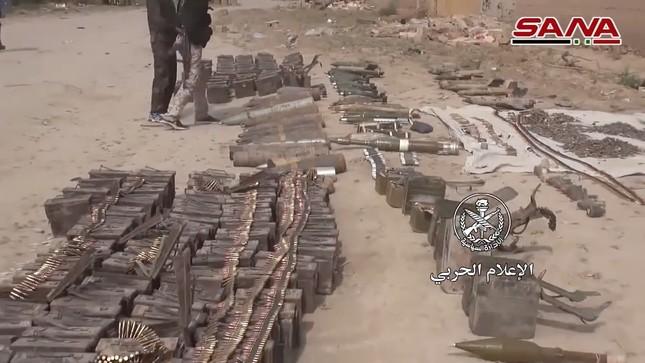 Quân đội Syria tìm thấy vũ khí của NATO tại vùng IS chiếm đóng ảnh 2