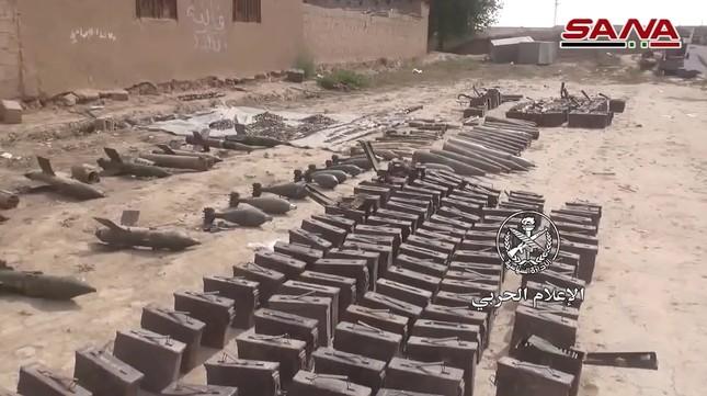 Quân đội Syria tìm thấy vũ khí của NATO tại vùng IS chiếm đóng ảnh 1