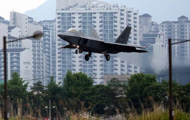 'Chim săn mồi' F-22 Mỹ tham gia cuộc tập trận bị Triều Tiên phản đối ảnh 3