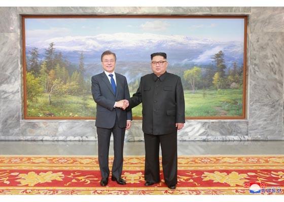 Báo Triều Tiên đăng ảnh hiếm về cuộc gặp của lãnh đạo Hàn - Triều ảnh 4