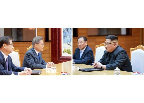 Báo Triều Tiên đăng ảnh hiếm về cuộc gặp của lãnh đạo Hàn - Triều ảnh 10