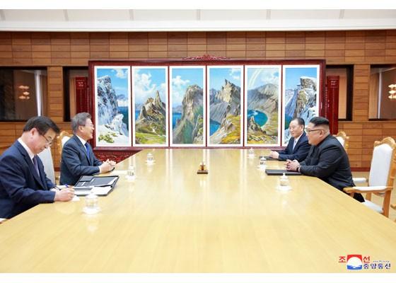 Báo Triều Tiên đăng ảnh hiếm về cuộc gặp của lãnh đạo Hàn - Triều ảnh 9