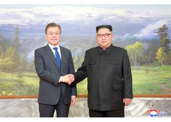 Báo Triều Tiên đăng ảnh hiếm về cuộc gặp của lãnh đạo Hàn - Triều ảnh 5
