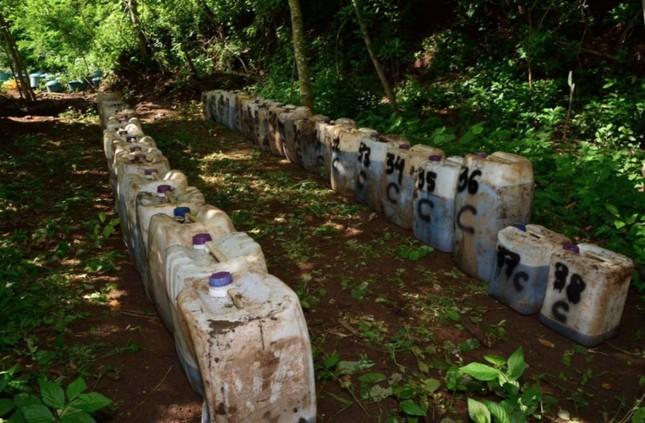 Mexico: Binh sĩ phát hiện 50 tấn ma túy đá dưới lòng đất ảnh 2