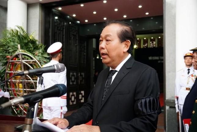 Hình ảnh Lãnh đạo Đảng, Nhà nước viếng Chủ tịch nước Trần Đại Quang ảnh 2