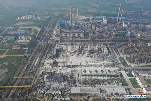 Nhà máy gas phát nổ, 34 người thương vong và mất tích ở Trung Quốc ảnh 4
