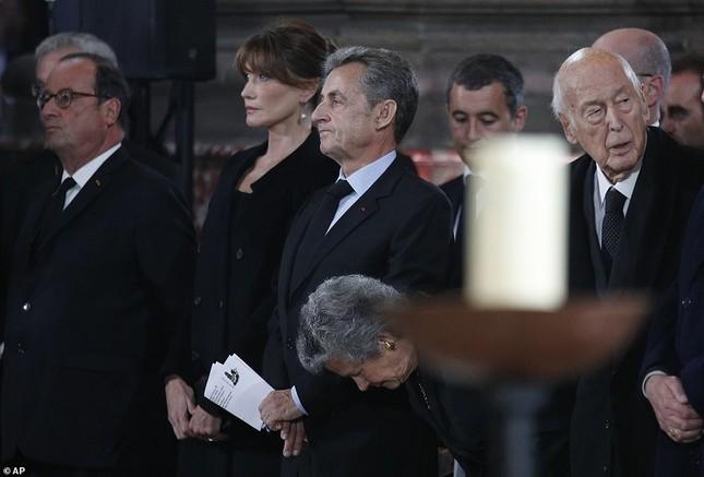 Ông Putin, ông Clinton đến Pháp viếng cố Tổng thống Jacques Chirac ảnh 12